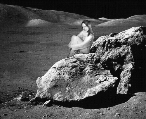 Crater moon Enid