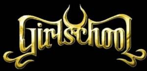 Girlschool logo gold
